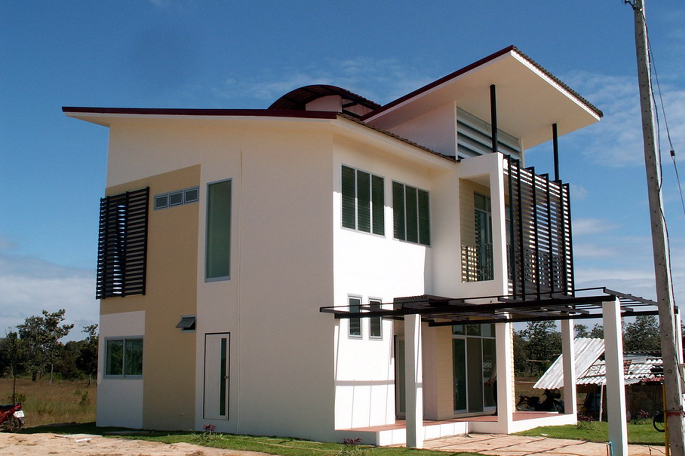 Natural Ventilation Design For Houses In Thailand House