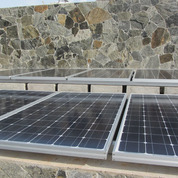 Pv panels on the slab roof 2